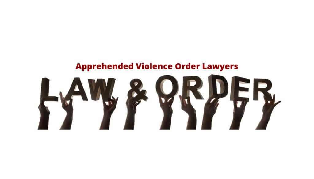 Apprehended Violence Order - Lawyers