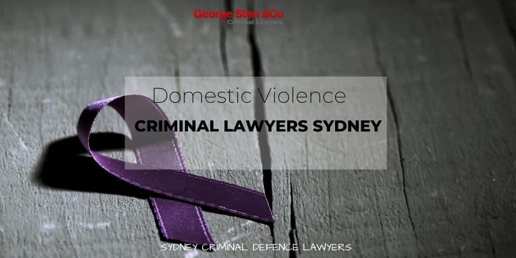 Domestic Violence Lawyers Sydney