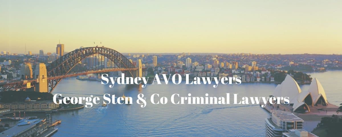 Apprehended Violence Orders Lawyers Sydney