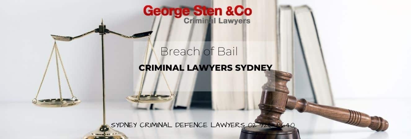 Breach of Bail in NSW