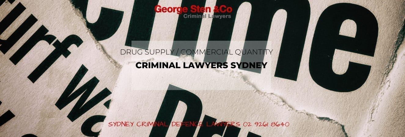 Drug Supply Charges – Sydney Drug Lawyers