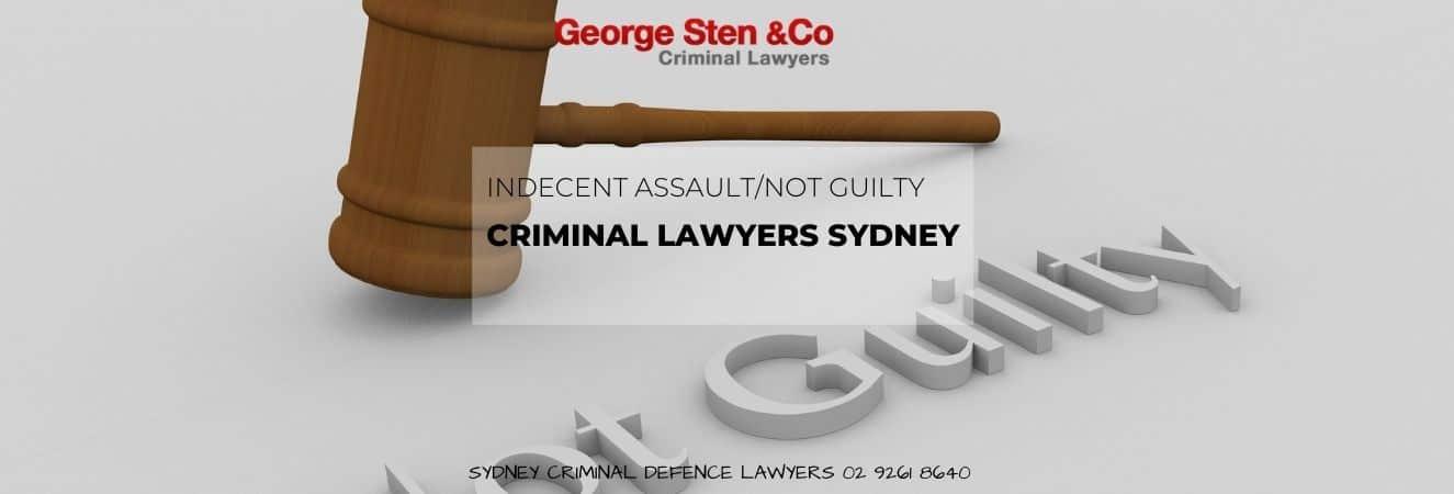 Indecent Assault in Sydney – Criminal Lawyers