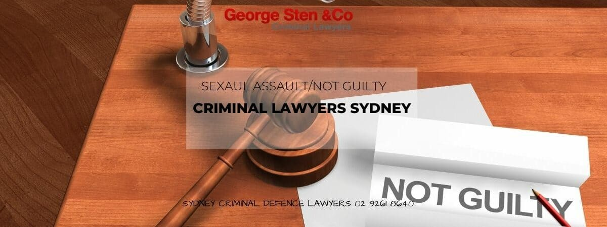Sexual Assault Lawyers Sydney- George Sten & Co