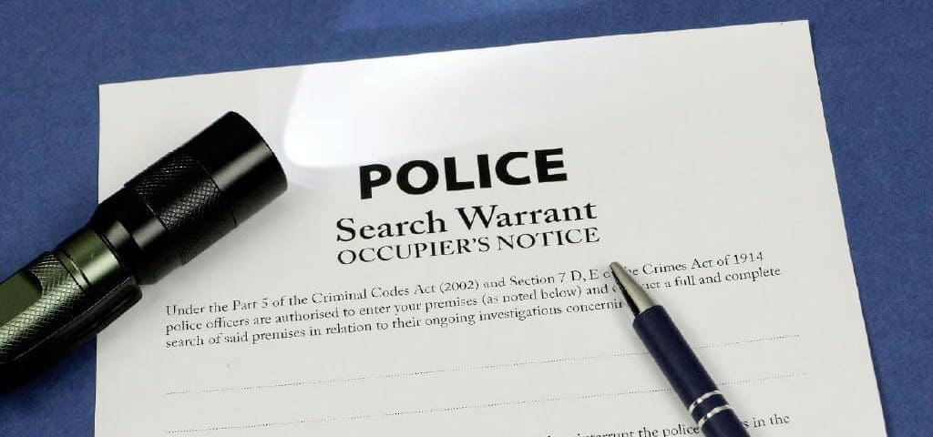 Police Search Warrants NSW