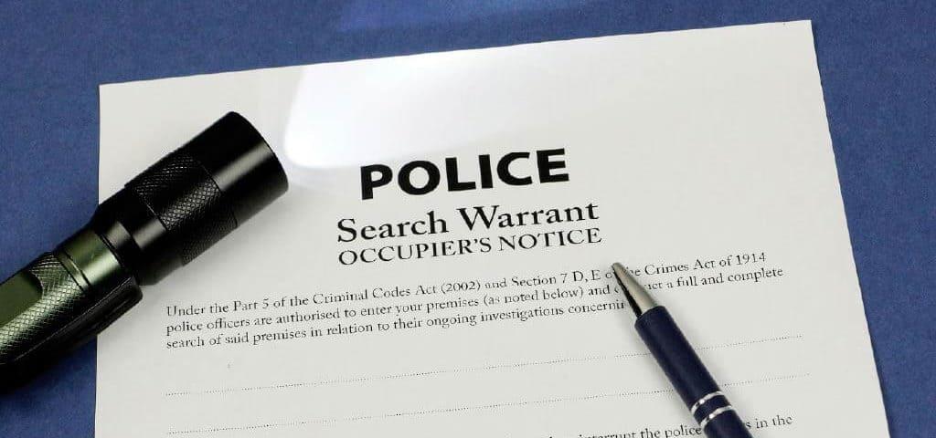 Police Search Warrants NSW