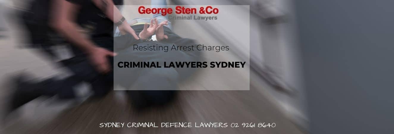 Resisting Arrest Charges – Lawyers Sydney