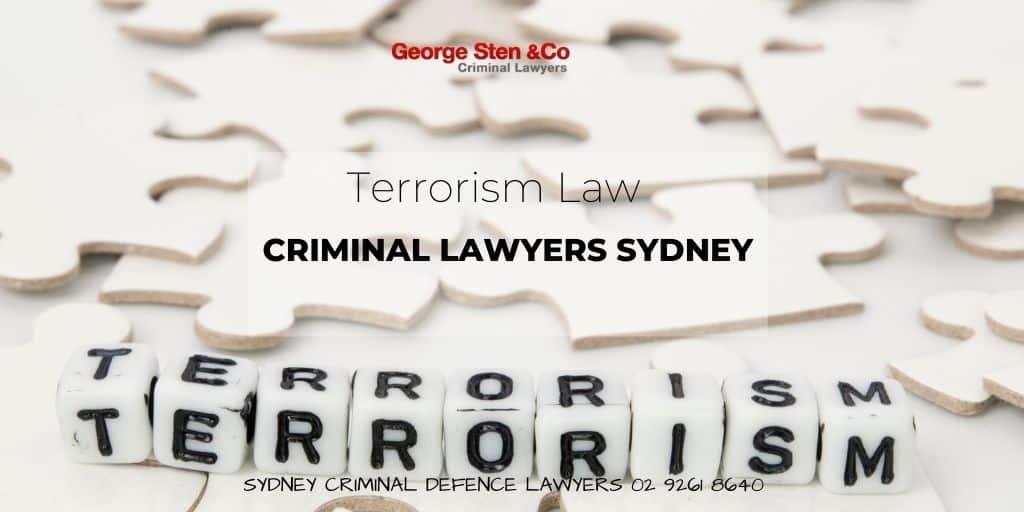 Terrorism Law Australia – Lawyers NSW