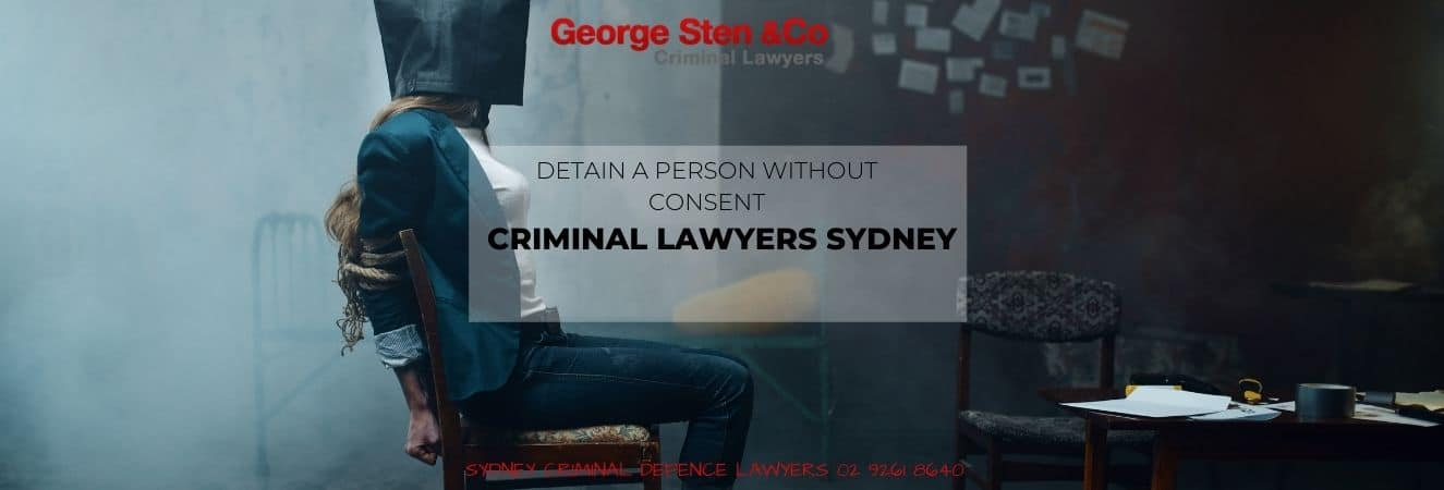 Detain A Person Without Consent NSW