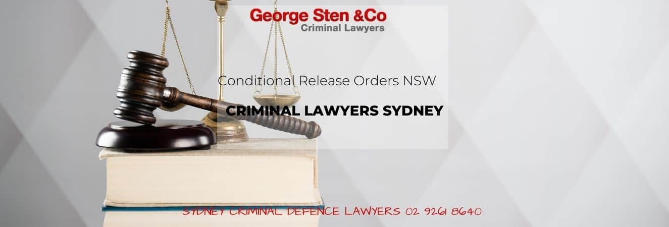 Conditional Release Orders NSW