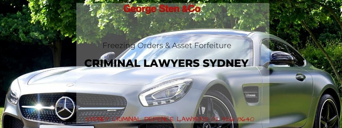 Freezing Orders & Asset Forfeiture - George Sten & Co