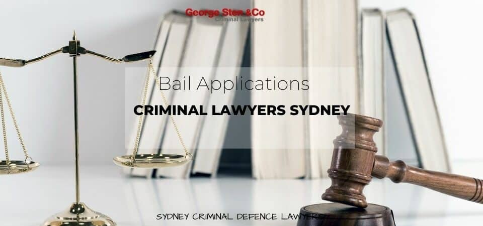Bail Application Lawyers Sydney - George Sten and Co