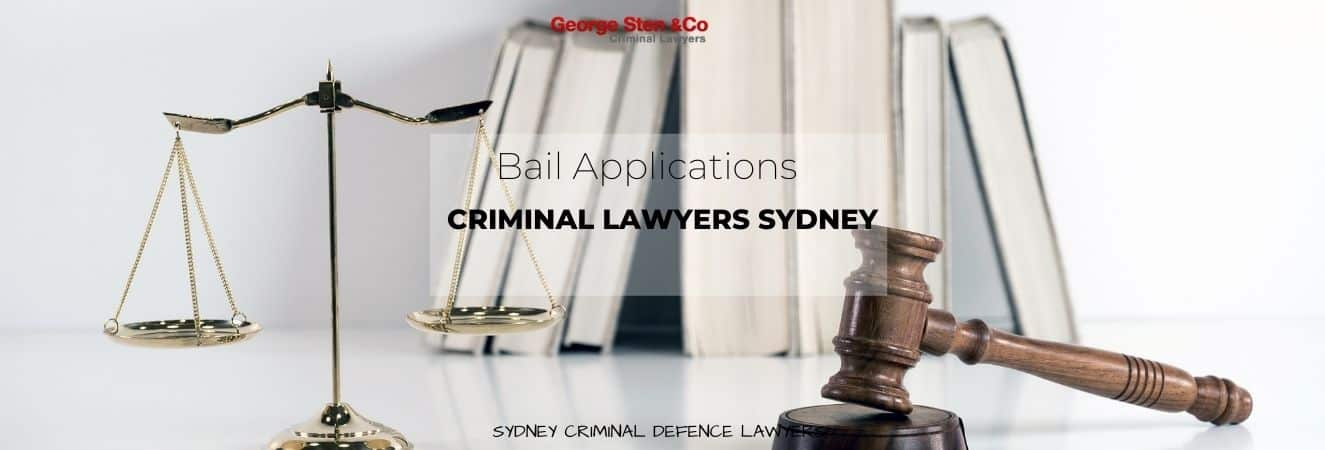 Bail Application Show Cause