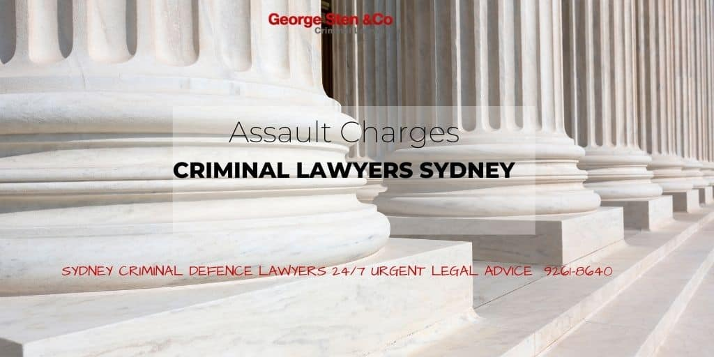 Assault Charges in NSW - Criminal Lawyers Sydney George Sten and Co